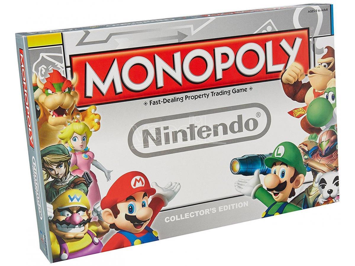 Gioco da Tavolo Monopoly Nintendo Versione Inglese Winning Moves