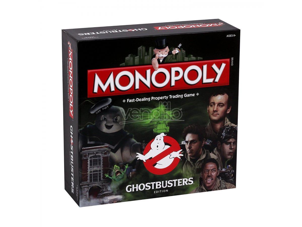 Gioco da Tavolo Monopoly Ghostbusters Versione Inglese Winning Moves