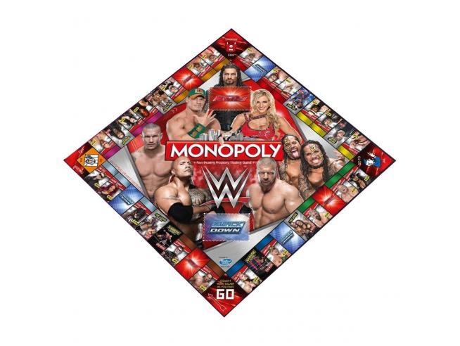 Gioco da Tavolo Monopoly WWE Versione Inglese Winning Moves