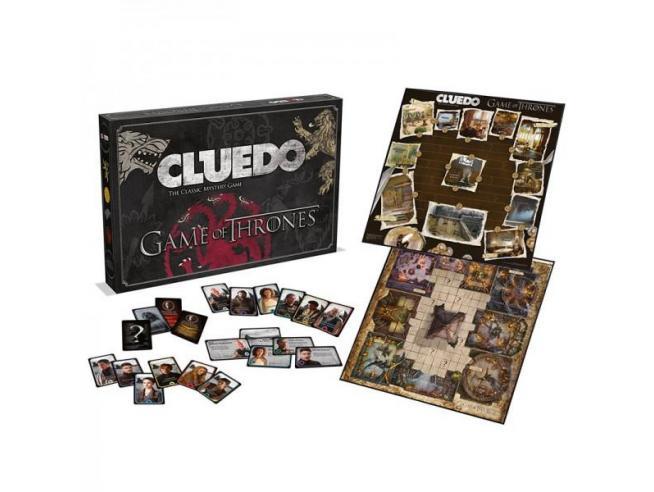Gioco da Tavolo Cluedo Games of Thrones Versione Italiano Winning Moves