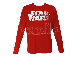 SD TOYS T-SHIRT SW EP VIII REPUBLIC L/SLEEVE RED BOY TAGLIA L T-SHIRT