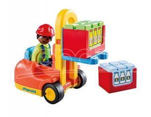 Playmobil 6959 - 1.2.3 Carrello Elevatore