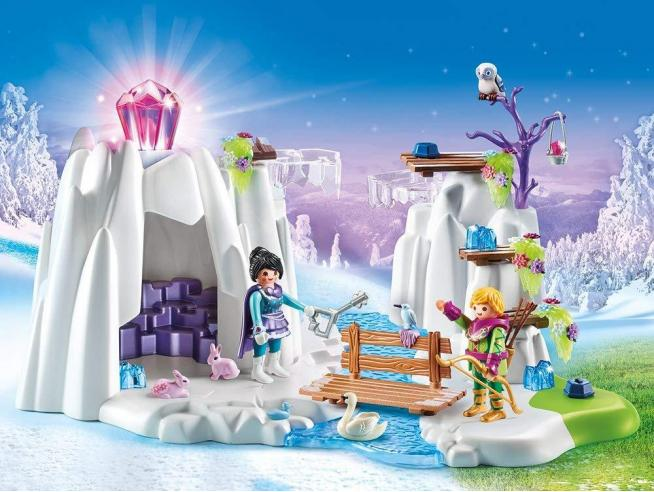 PLAYMOBIL MAGIC 9470 - GROTTA DEL DIAMANTE DELL'AMORE
