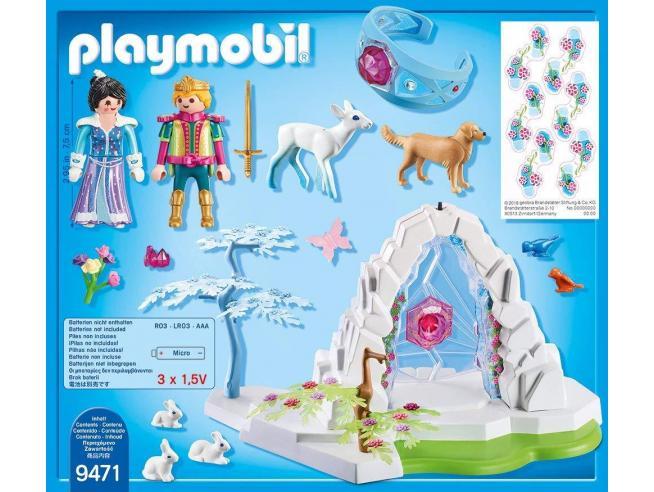 PLAYMOBIL MAGIC 9471 - PORTALE DEL MONDO DEI GHIACCI