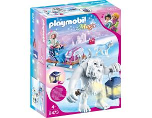 PLAYMOBIL MAGIC 9473 - TROLL DELLE NEVI CON SLITTA