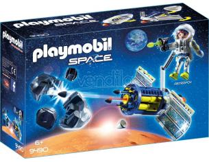 PLAYMOBIL SPACE 9490 - SATELLITE DISTRUGGI METEORITI