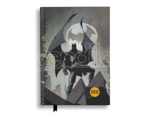SD TOYS BATMAN BATSIGNAL NOTEBOOK W/LIGHT TACCUINO