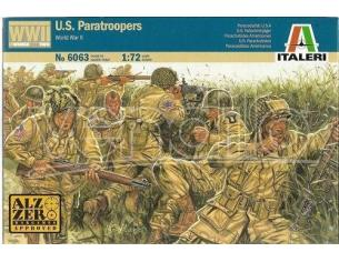 Italeri IT6063 WWII US PARATROOPERS KIT 1:72 Modellino