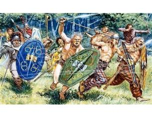 Italeri IT6022 GAUL WARRIORS SOLDATINI KIT 1:72 Modellino