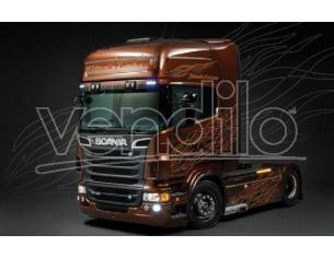 Italeri IT3897 SCANIA R730 V8 BLACK AMBER KIT 1:24 Modellino