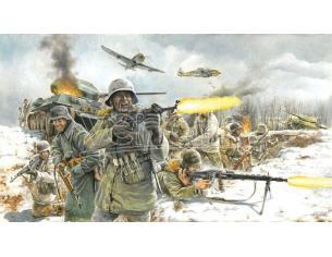 Italeri It6151 German Infantry (winter Uniforme) Kit 1:72 Modellino