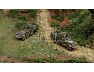 Italeri IT7510 M 3 75 MM HALF TRACK KIT 1:72 Modellino