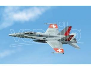 Italeri IT1385 F/A 18 SWISS AIR FORCE KIT 1:72 Modellino