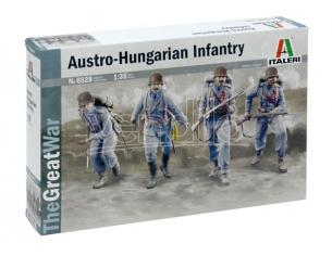 Italeri IT6528 WWI AUSTRO HUNGARIAN INFANTRY 1914 KIT 1:35 Modellino