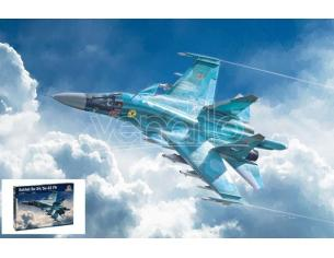 Italeri IT1379 SUKHOI SU-34/SU-32 FN KIT 1:72 Modellino