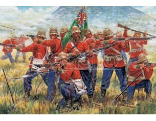 Italeri IT6050 ZULU WAR BRITISH INFANTRY KIT 1:72 Modellino