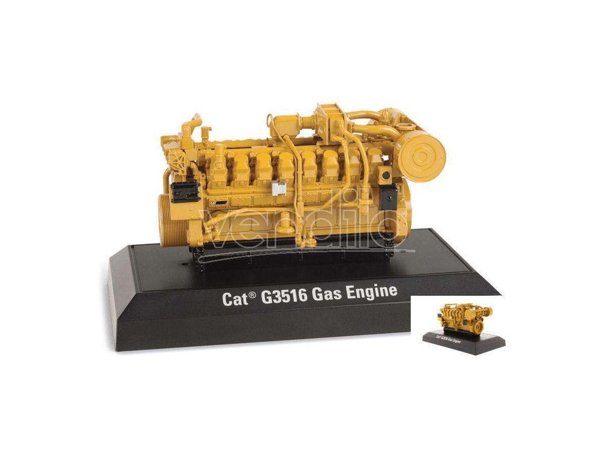 Diecast Master DM85238 CAT G3516 GAS ENGINE 1:25 Modellino