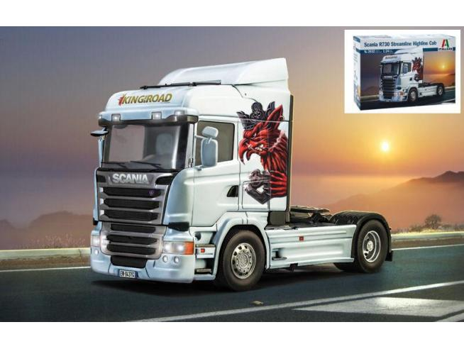 Italeri IT3932 SCANIA R730 STREAMLINE-HIGHLINE KIT 1:24 Modellino