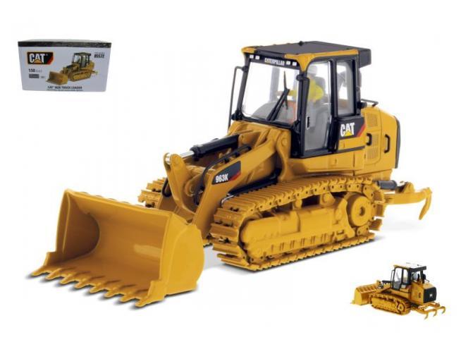 Diecast Master DM85572 CAT 963 TRACK LOADER 1:50 Modellino