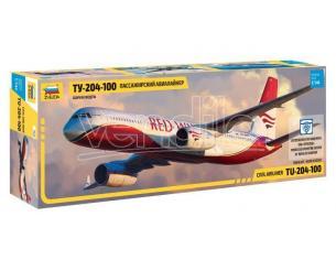 Zvezda Z7023 TUPOLEV TU 204-100 KIT 1:144 Modellino