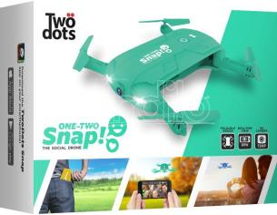 TWO DOTS SNAP THE SOCIAL DRONE VERDE DRONI CONSUMER