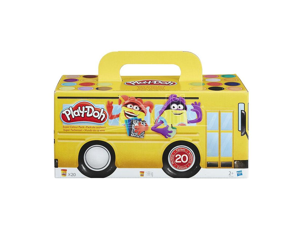 PLAYDOH SUPER COLOR PACK PASTA DA MODELLARE - GIOCHI EDUCATIVI
