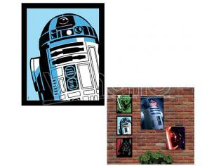 QUADRO LUMINOSO STAR WARS - R2-D2 SMALL GADGET
