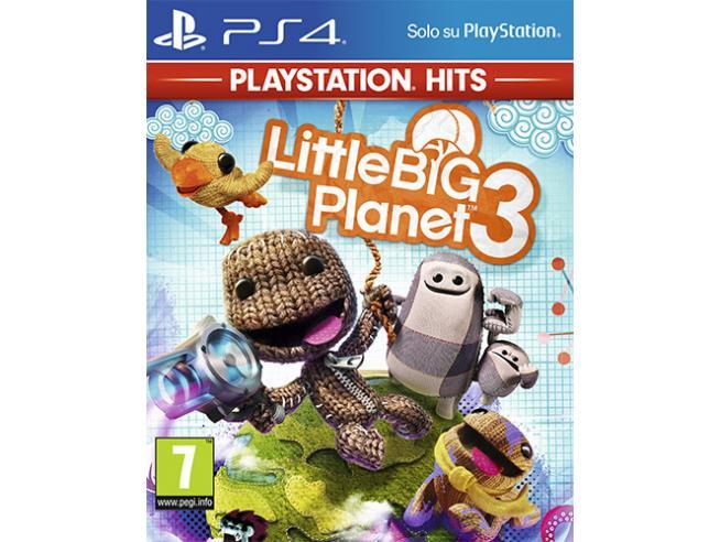 LITTLE BIG PLANET 3 PS HITS SIMULAZIONE - PLAYSTATION 4
