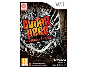 GUITAR HERO 6 WARRIORS OF ROCK SOCIAL GAMES - WII