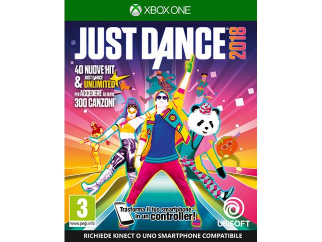 JUST DANCE 2018 SOCIAL GAMES - XBOX ONE