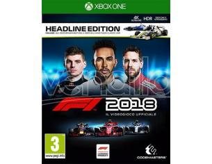 F1 2018 - HEADLINE EDITION GUIDA/RACING XBOX ONE