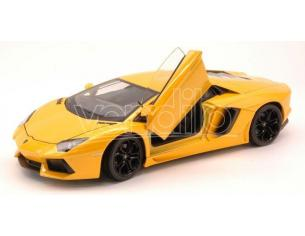 Welly WE0210 LAMBORGHINI AVENTADOR LP 700-4 2011 YELLOW 1:24 Modellino