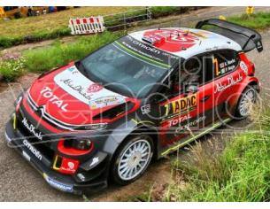 Spark Model S5176 CITROEN C3 WRC N.7 2nd RALLY GERMANY 2017 A.MIKKELSEN-A.JAGER 1:43 Modellino