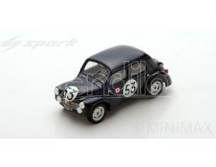 Spark Model S5212 RENAULT 4CV 1063 N.53 29th (WINNER CLASS) LM 1951 J.E.VERNET-J.PAIRAD Modellino
