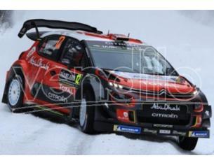 Spark Model S5965 CITROEN C3 WRC N.12 6th SWEDEN RALLY 2018 M.OSTBERG-T.EIKSEN 1:43 Modellino