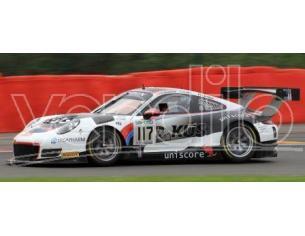 Spark Model S18SB009 PORSCHE 911 GT3 N.117 4th 24H SPA 2017 ESTRE-CHRISTENSEN-VANTHOOR 1:18 Modellino