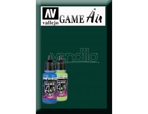 VALLEJO GAME AIR DARK GREEN 72728 COLORI