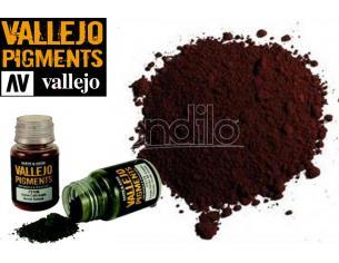 VALLEJO PIGMENT BROWN IRON OXIDE 73108 COLORI