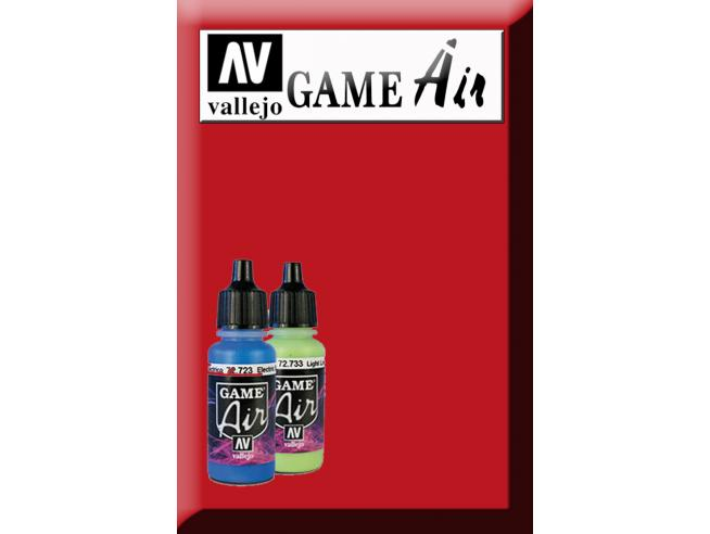 VALLEJO GAME AIR BLOODY RED 72710 COLORI