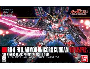 BANDAI MODEL KIT HGUC GUNDAM UNIC FULL ARM DEST RED 1/144 MODEL KIT