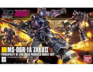 BANDAI MODEL KIT HGUC ZAKU II BLACK TRISTARS MS-06R 1/144 MODEL KIT