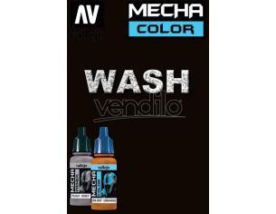 VALLEJO MECHA COLOR BLACK WASH 69518 COLORI