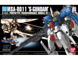 BANDAI MODEL KIT HGUC GUNDAM-S MSA-0011 1/144 MODEL KIT
