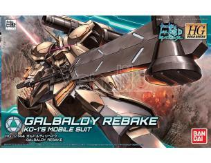 BANDAI MODEL KIT HGBD GALBALDY REBAKE 1/144 MODEL KIT