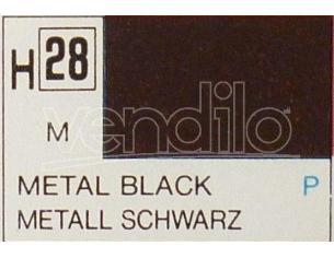 Gunze GU0028 BLACK METALLIC ml 10 Pz.6 Modellino