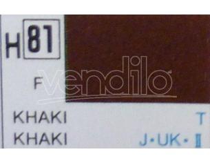 Gunze GU0081 KHAKI FLAT ml 10 Pz.6 Modellino