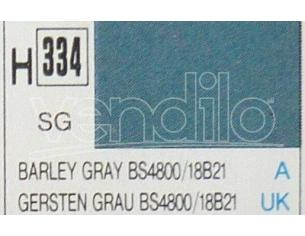 Gunze GU0334 BARLEY GRAY SEMI-GLOSS ml 10 Pz.6 Modellino
