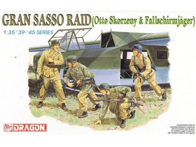Dragon D6094 GRAN SASSO RAID KIT 1:35 Modellino