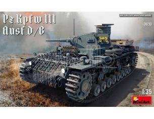 Miniart MIN35213 PZ.KPFW.III AUSF.D/B KIT 1:35 Modellino