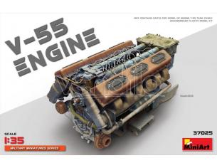 Miniart MIN37025 V-55 ENGINE KIT 1:35 Modellino